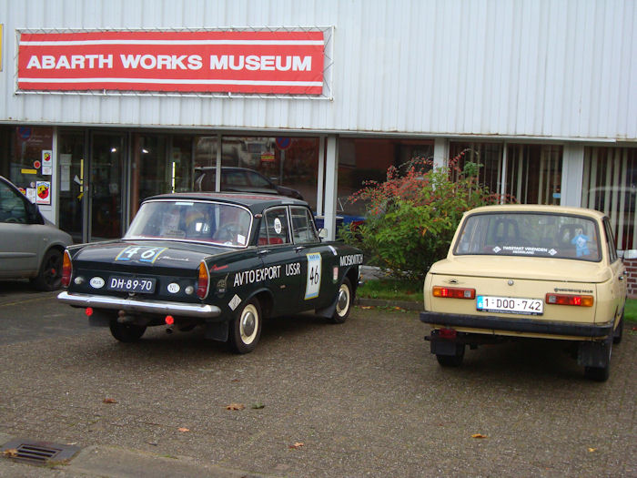 Abarth Works Museum in Lier